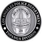 LAPD Topanga Division logo