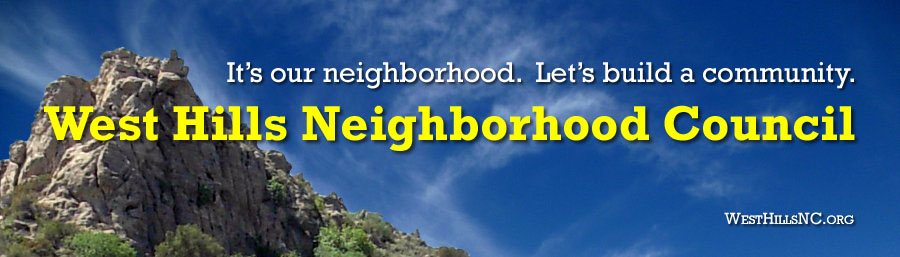 West Hills Neighborhood Council website